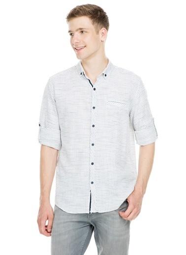 Manche Gömlek Siyah